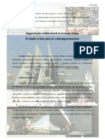 Importanta arhitecturii in tesutul urban Evolutie si inovatie in contemporaneitate