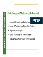 Multiloop and Multivariable Control