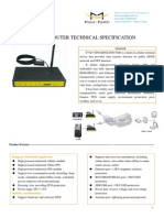 F7325 GPS+EDGE ROUTER SPECIFICATION