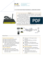 F7625 GPS+CDMA2000 1X EVDO ROUTER SPECIFICATION
