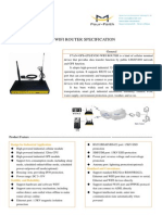 F7A34 GPS+LTE&EVDO WIFI ROUTER SPECIFICATION