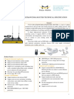 F7C30 GPS+LTE&WCDMA&LTE&WCDMA ROUTER SPECIFICATION