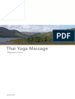 Thai Yoga Massage-beginners Course