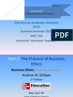 Business Ethics - Part 2 - Chapter 6