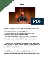 A Doutrina Do Inferno de Fogo