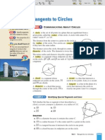 ML Geometry 10-1 Tangents to Circles