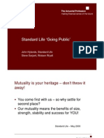 Standard Life Going Public Slides