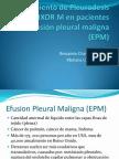 Tratamiento de Pleurodesis Con HELIXOR M en EPM