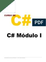 Apostila C# - Módulo 1 - Intridução Ao C#