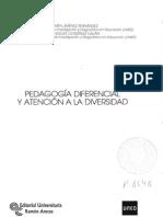 Pedagogía Diferencial y Atención a La Diversidad.