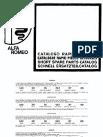 Catalogo Rapido Ricambi Da 000 a 057