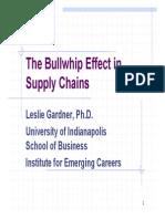 Bullwhip Effect - IoPP