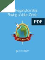 Negotiation Skills Game Based Learning