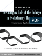 113219754 Amundson the Changing Role of Embryo in Evolutionary Thought
