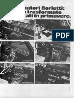Alfa Romeo 2000 Berlina - Aria Condizionata - Condizionatore Borletti