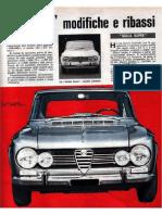 Alfa Romeo Giulia - 1967