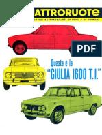 Alfa Romeo Giulia 1600 T.I. - Presentazione