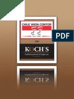 Koch's Weinkarte mit CWC