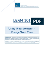 Lean ChangeOver Time