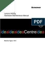 Lenovo H520g Hardware Maintenance Manual - 20130903