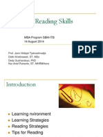 Effective Reading Skill