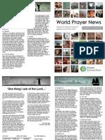 World Prayer News - September/October 2014