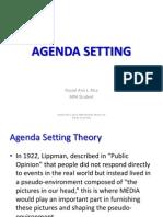 Agenda Setting - Policy Process (Philippine Setting)