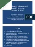 Thayer US Rebalancing Australia's Response Power Point Slides.pptx