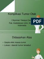 Komplikasi Tumor Otak