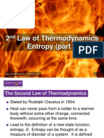 Slides 2.1 the Second Law of Thermodynamics and Entropy (Part I)
