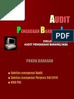 Audit PBJ contoh