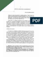 Salomon-Bayet a a Cournot Et La Règle de l'Anamorphose