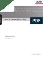 Hitachi White Paper Big Data Infrastructure