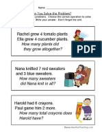 Word Problem Worksheet 4