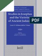 Studies in Josephus