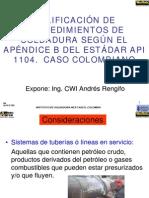 Calificacion de Procedimientos API-1104