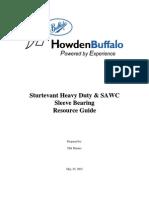 HD and SAWC Bearing Manuals