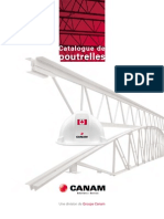 Canam Catalogue Poutrelles