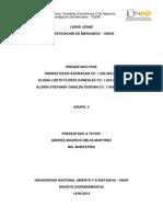 Proyecto de Investigacion de Mercado - LIQUID JEANS