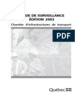 Guide Surv Chantiers 2003