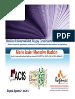Modelos de Gobernabilidad Riesgo y Cumplimiento Ti v2014!02!13