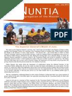 NUNTIA - June & July 2014 (English)