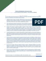 Reglamento Residencia 2014