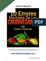 10 Errores Mortales Crudiveganos - Frederic Patenaude