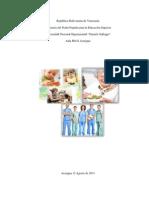 Alimentacion en Diferentes Etapas Escolar y Adulto Mayor