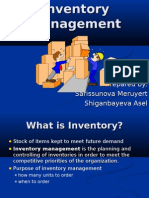 Bonus Project Logitics Inventory Management