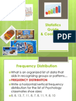 statistics guide  cookie lab ppt companion