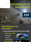 Other Members of the Solar System
