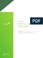 Meraki Whitepaper VPN Redundancy