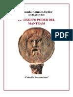 El Poder Del Mantram-Krumm Heller-Biblioteca RosaCruz Nº 1